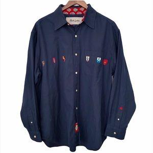 Robert Graham Crest Long Sleeve Button Up